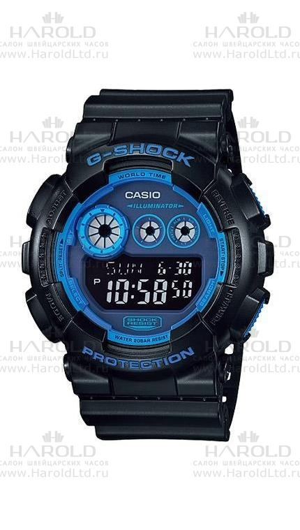 Casio G-Shock GD-120N-1B2