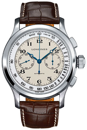 Longines Lindberghs Atlantic Voyage Watch L2.730.4.11.0