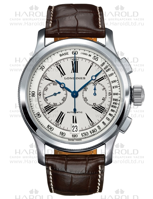 Longines Lindberghs Atlantic Voyage Watch L2.730.4.78.2