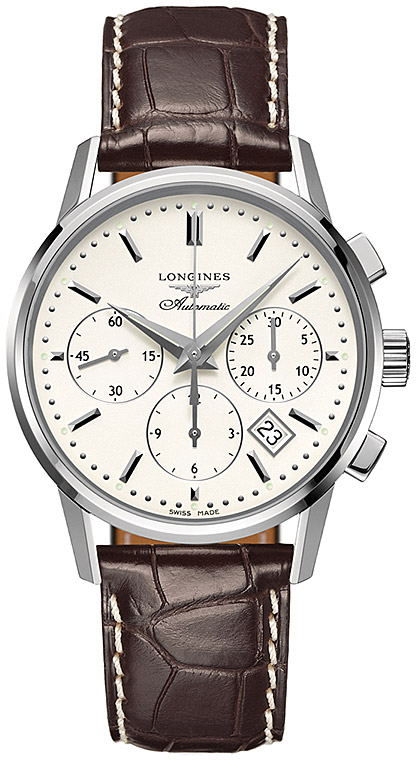 Longines Column-Wheel Chronograph L2.749.4.72.2