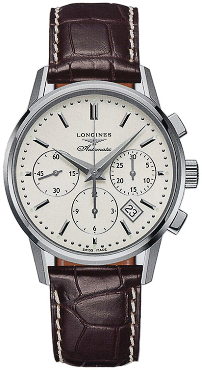 Longines Column-Wheel Chronograph L2.749.4.72.4