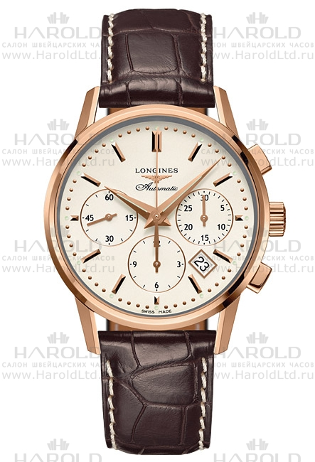 Longines Column-Wheel Chronograph L2.749.8.72.4