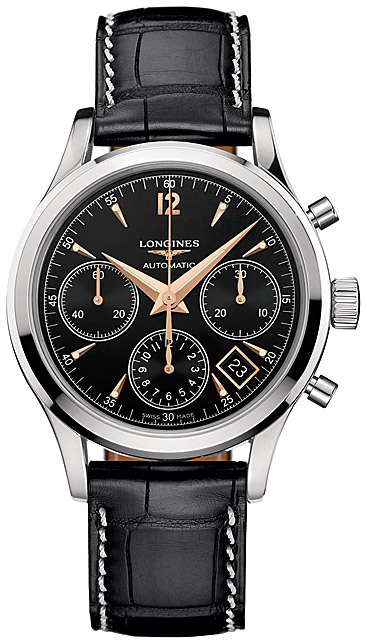 Longines Column-Wheel Chronograph L2.750.4.56.3