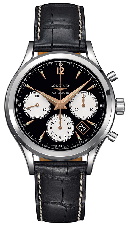 Longines Column-Wheel Chronograph L2.750.4.96.3