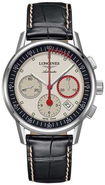 Longines Column-Wheel Chronograph L4.754.4.72.3