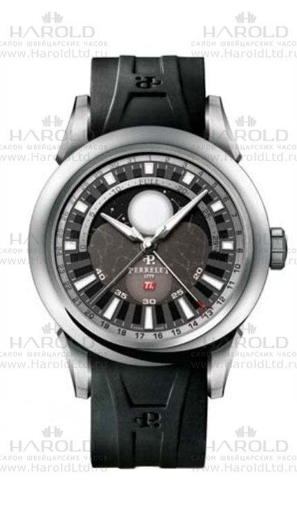 Perrelet Titanium Collection 2SWGS-S08A-K06B