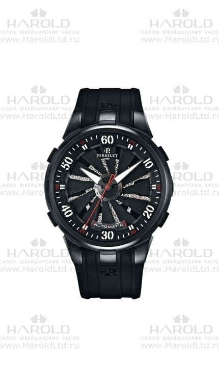 Perrelet Turbine Collection new model Silverstone Tourbillograph 1