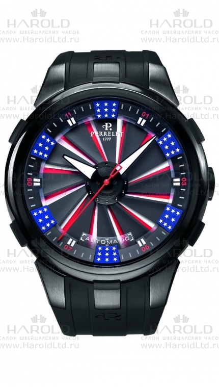 Perrelet Turbine Collection new model Silverstone Tourbillograph 2