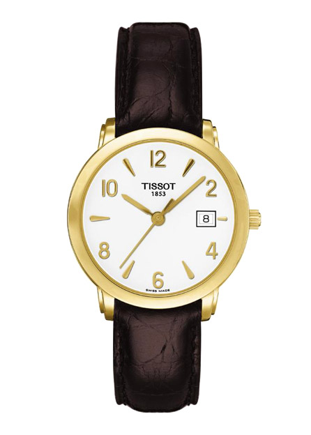 Tissot T71.73.905.T-Gold.Sculpture Line T71.3.134.34