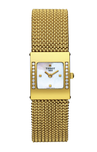 Tissot T73.74.T-Gold.Bellflower T74.3.308.71