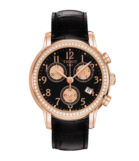 Tissot T906 T-Gold Chronograph Lady and Gent T906.217.76.052.01