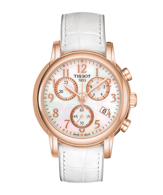 Tissot T906.T-Gold.Chronograph Lady and Gent T906.217.76.112.00