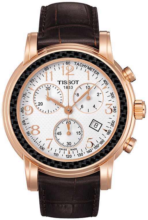 Tissot T906.T-Gold.Chronograph Lady and Gent T906.417.76.031.00