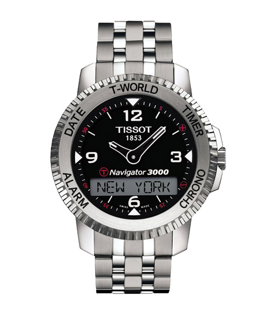 Tissot T96 T-tactile Touch Navigator T96.1.488.52