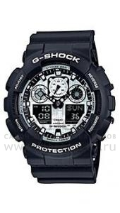 ���� Casio G-Shock GA-100BW-1A