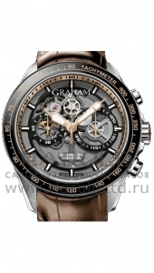Швейцарские часы Graham Silverstone RS new model-2011 Villeret Pulsograph