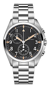 """асы Hamilton Khaki Aviation H76522131"
