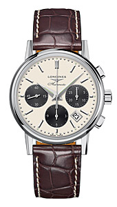 Швейцарские часы Longines Column-Wheel Chronograph L2.733.4.02.4