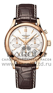 Швейцарские часы Longines Column-Wheel Chronograph L2.742.8.76.4