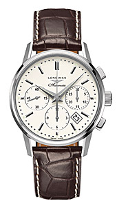Швейцарские часы Longines Column-Wheel Chronograph L2.749.4.72.2