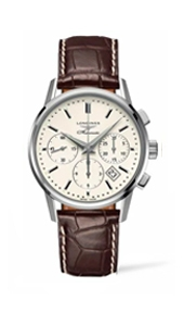 Швейцарские часы Longines Column-Wheel Chronograph L2.749.4.72.4