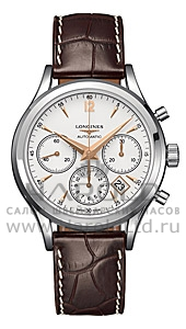 Швейцарские часы Longines Column-Wheel Chronograph L2.750.4.76.4