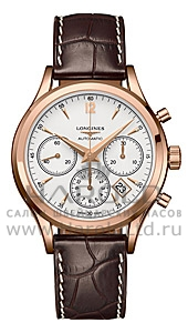 Швейцарские часы Longines Column-Wheel Chronograph L2.750.8.76.4