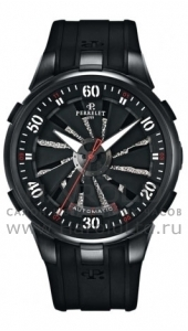 Швейцарские часы Perrelet Turbine Collection new model Silverstone Tourbillograph 1