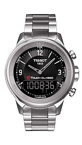 Ўвейцарские часы Tissot T083.T-Tactile.T-Touch Classic T083.420.11.057.00