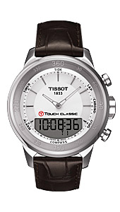 Ўвейцарские часы Tissot T083.T-Tactile.T-Touch Classic T083.420.16.011.00