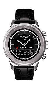 Ўвейцарские часы Tissot T083.T-Tactile.T-Touch Classic T083.420.16.051.00