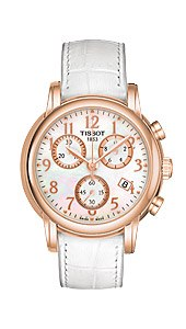 Швейцарские часы Tissot T906.T-Gold.Chronograph Lady and Gent T906.217.76.112.00