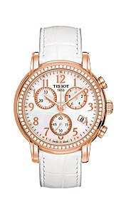 Швейцарские часы Tissot T906.T-Gold.Chronograph Lady and Gent T906.217.76.112.01
